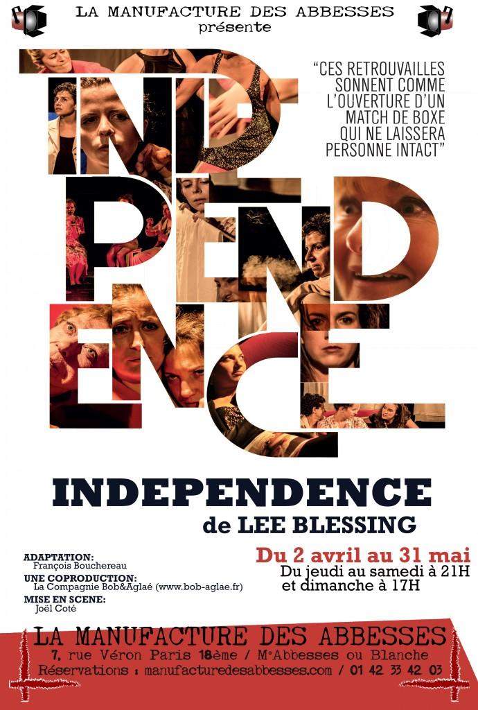 Affiche patchwork Independence def(BD)